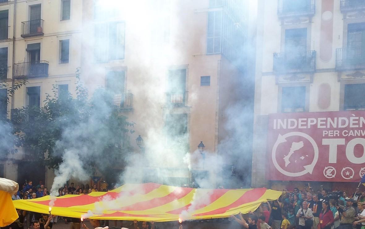 Barcelone - Diada de catalunya (1)