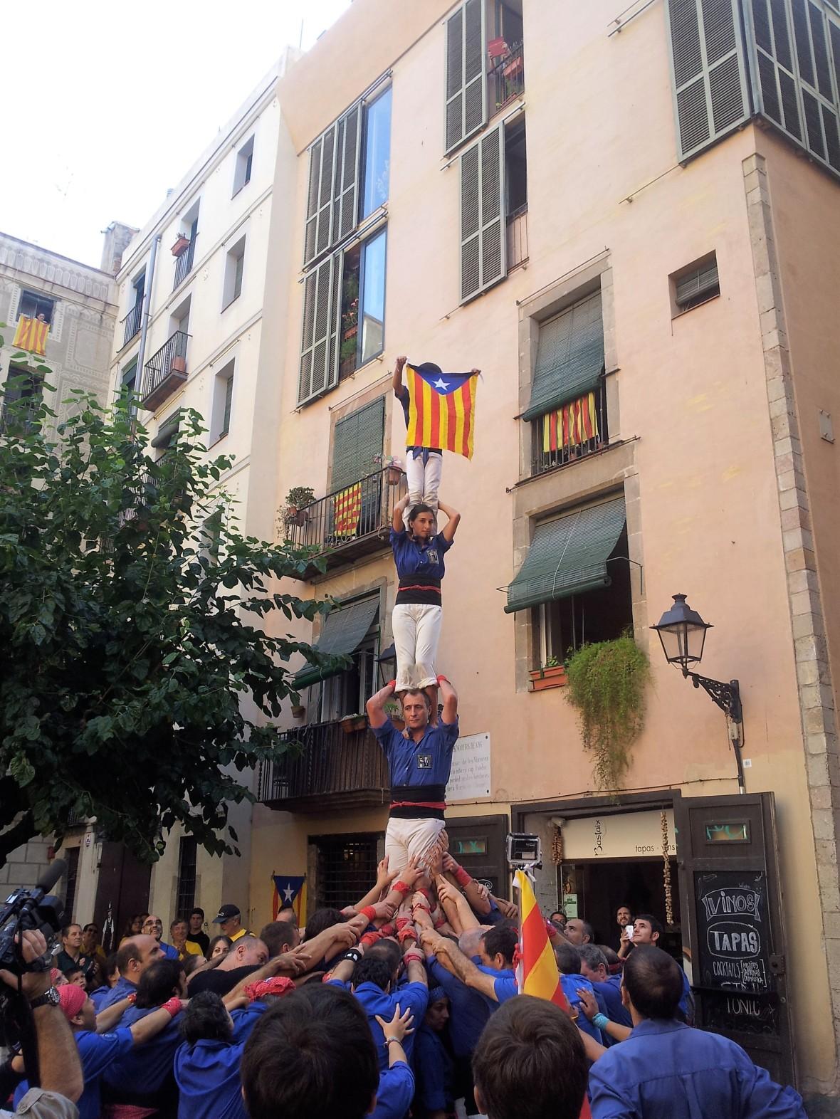 Barcelone - Diada de catalunya (2)