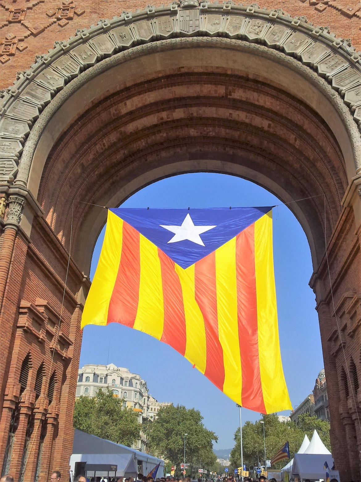 Barcelone - Diada de catalunya (3)