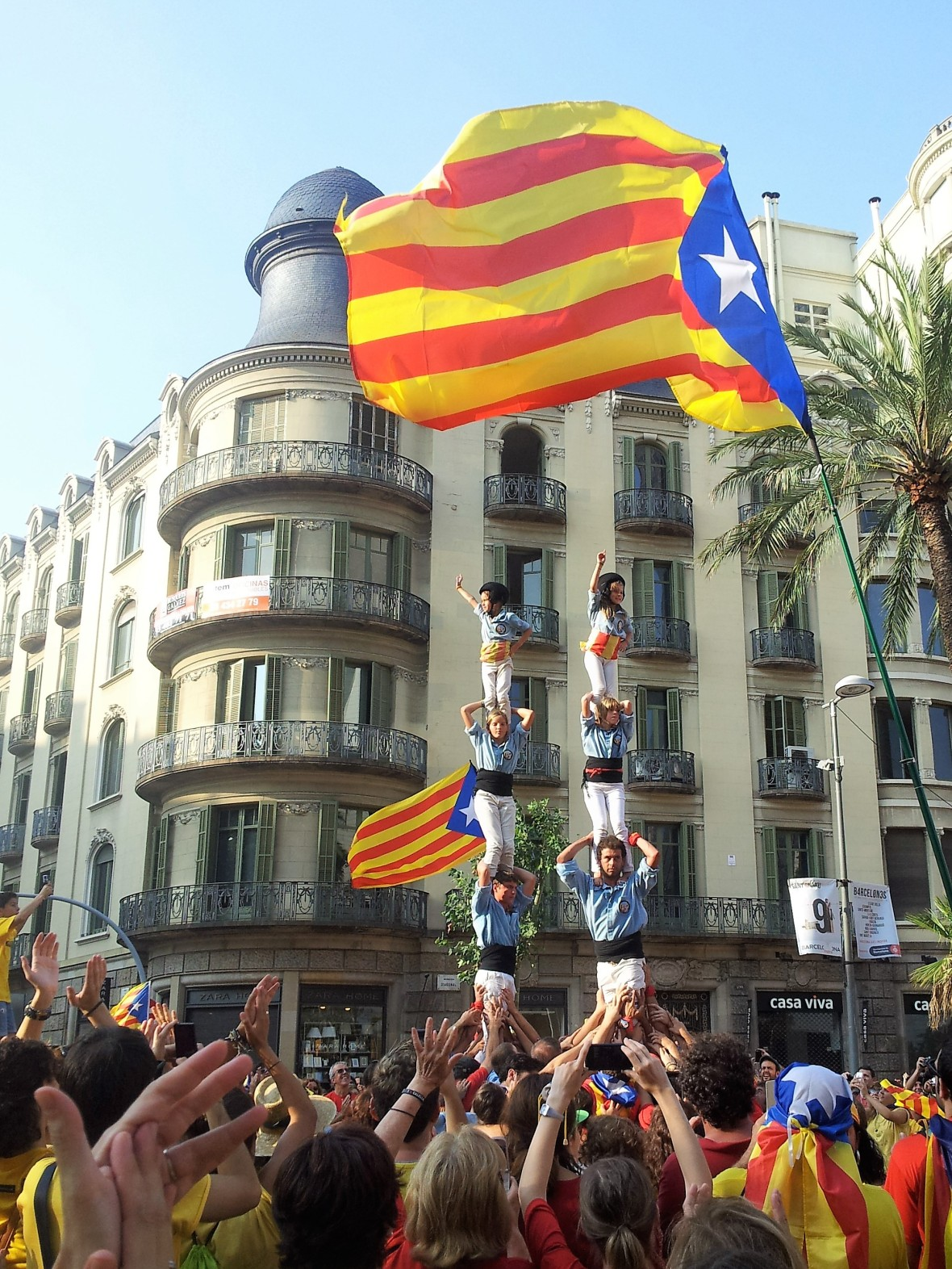 Barcelone - Diada de catalunya (4)