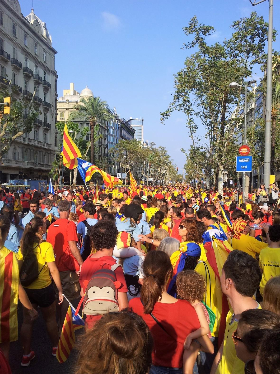 Barcelone - Diada de catalunya (5)