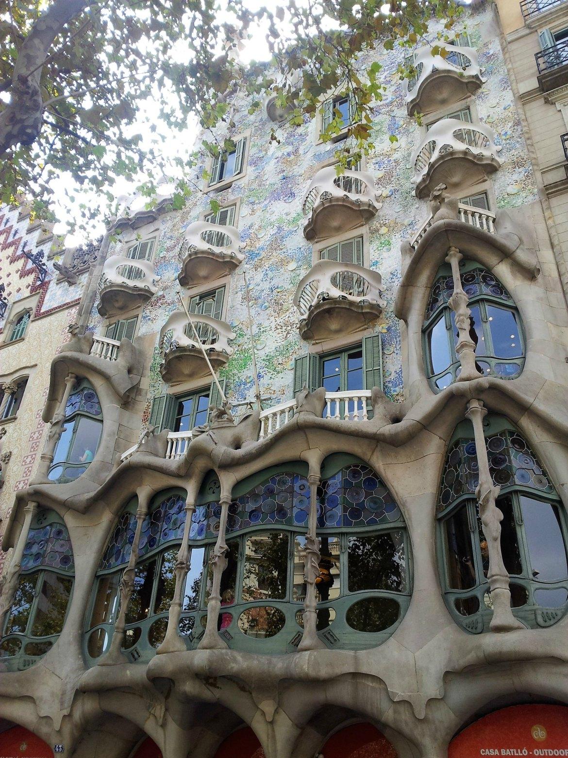 Barcelone - Gaudi (1)