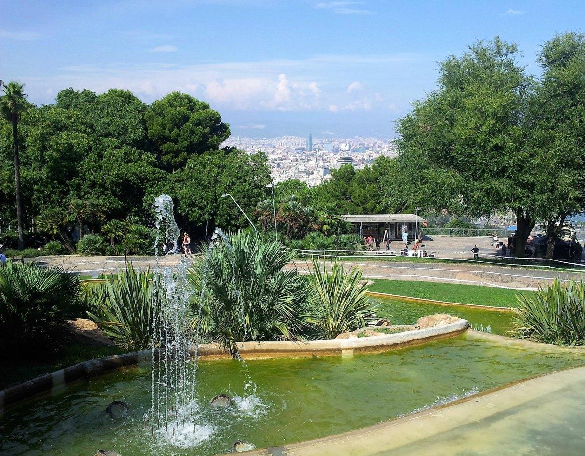 Barcelone - Montjuic (1)