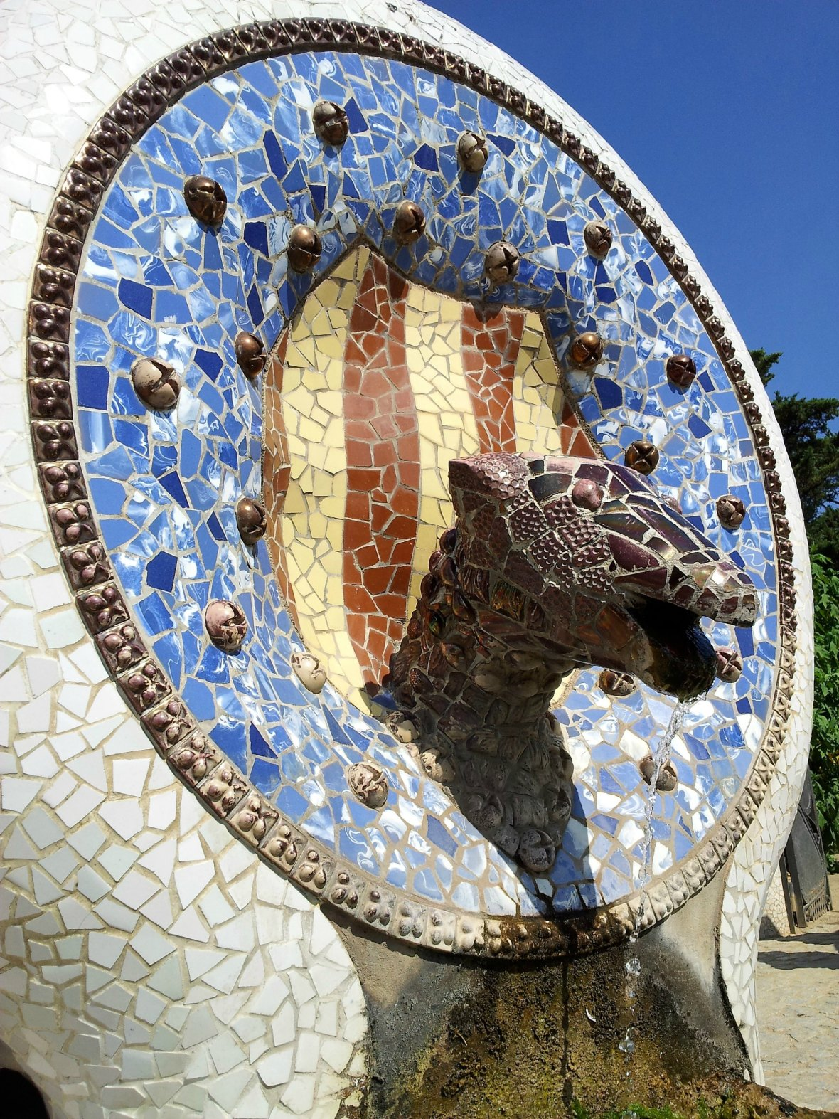 Barcelone - Parc Guell (10)