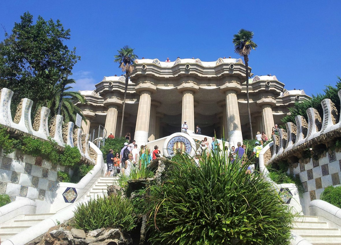 Barcelone - Parc Guell (3)