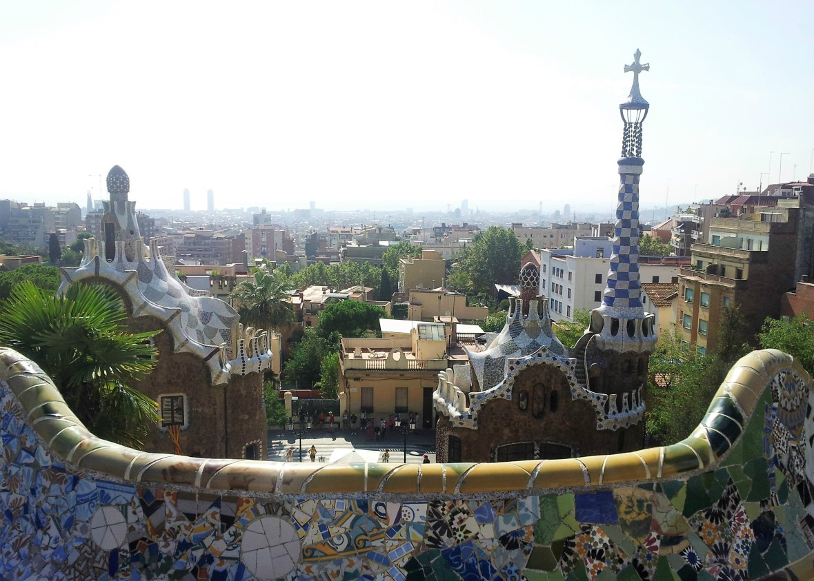 Barcelone - Parc Guell (5)