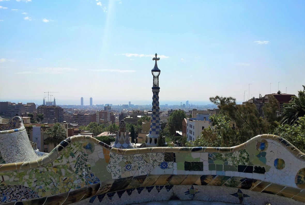 Barcelone - Parc Guell (7)