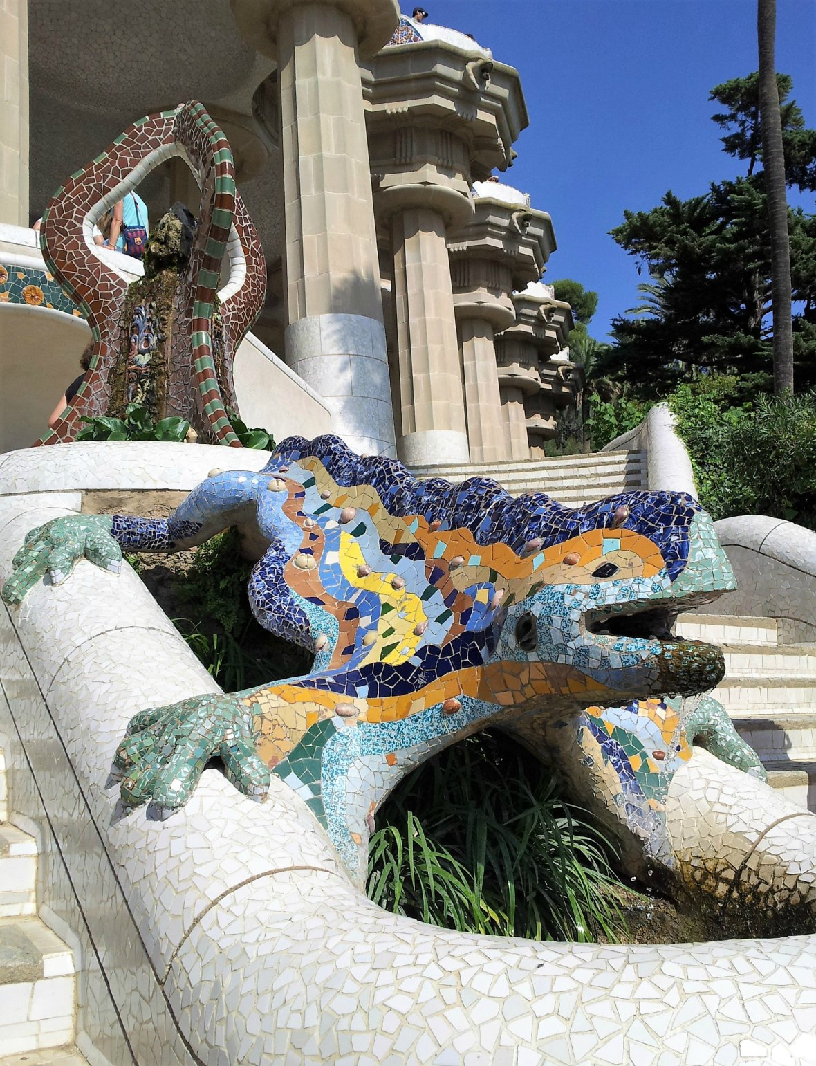 Barcelone - Parc Guell (9)