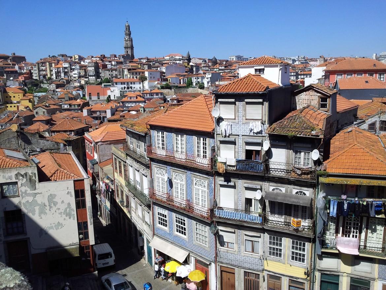 Porto - Vue des toits (1)
