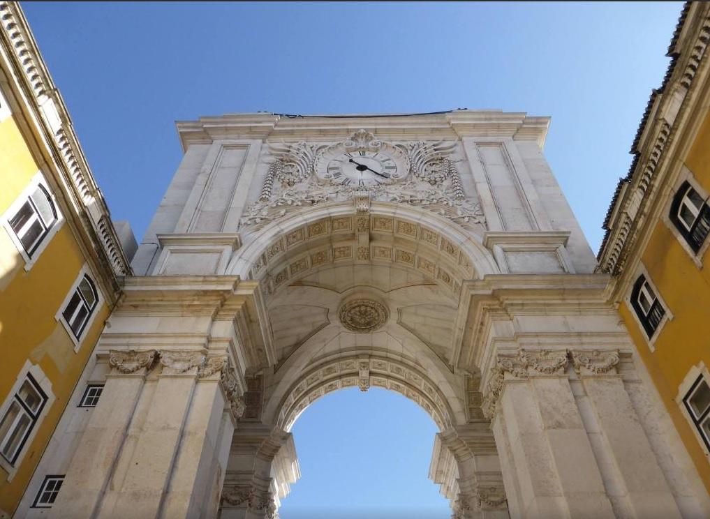 Portugal - Lisbonne - Praça do comercio (1)