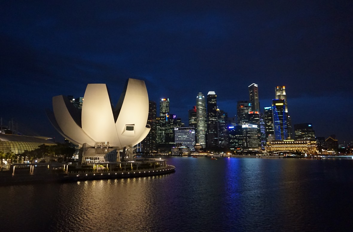 Singapour - Marina Bay Night (1)