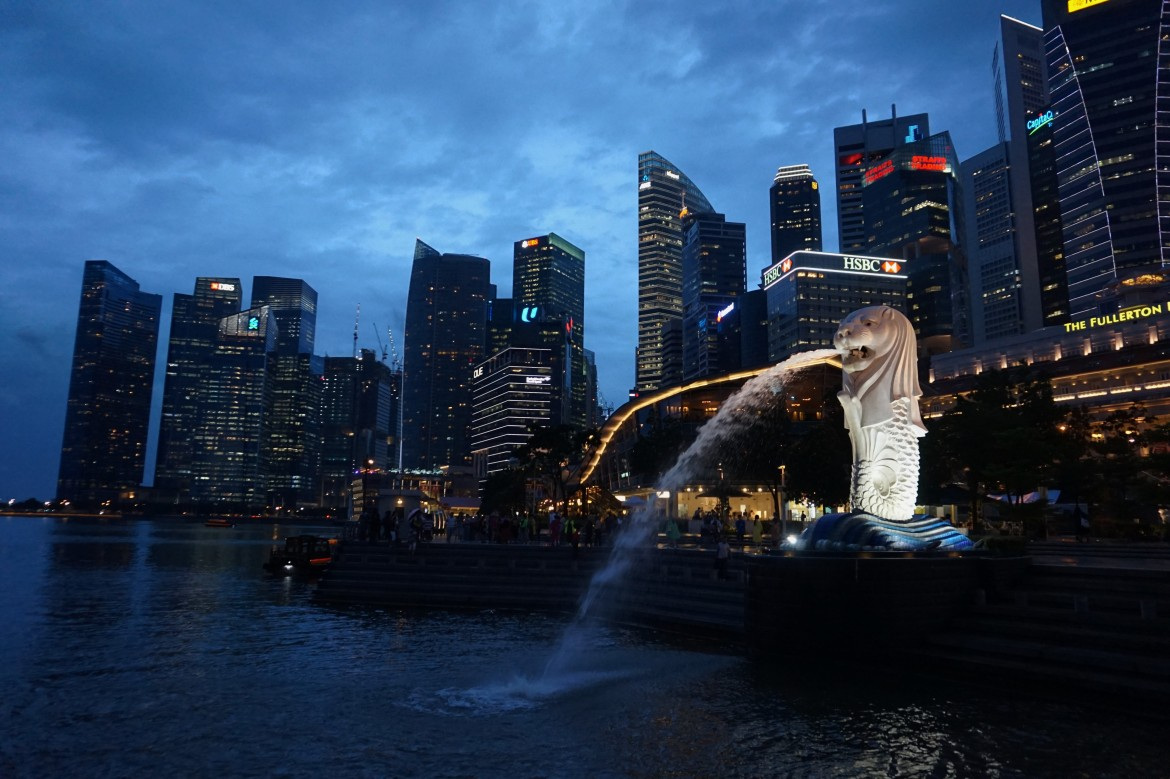 Singapour - Marina Bay Night (3)