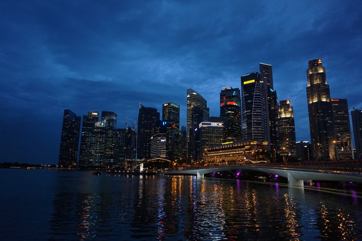Singapour - Marina Bay Night (4)