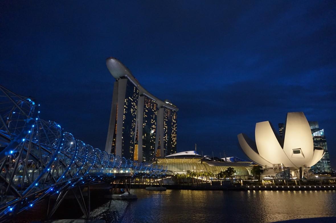 Singapour - Marina Bay Night (5)