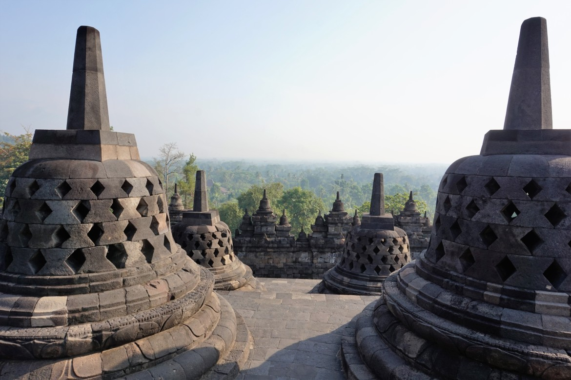 Indonesie - Java - Borobudur (1)