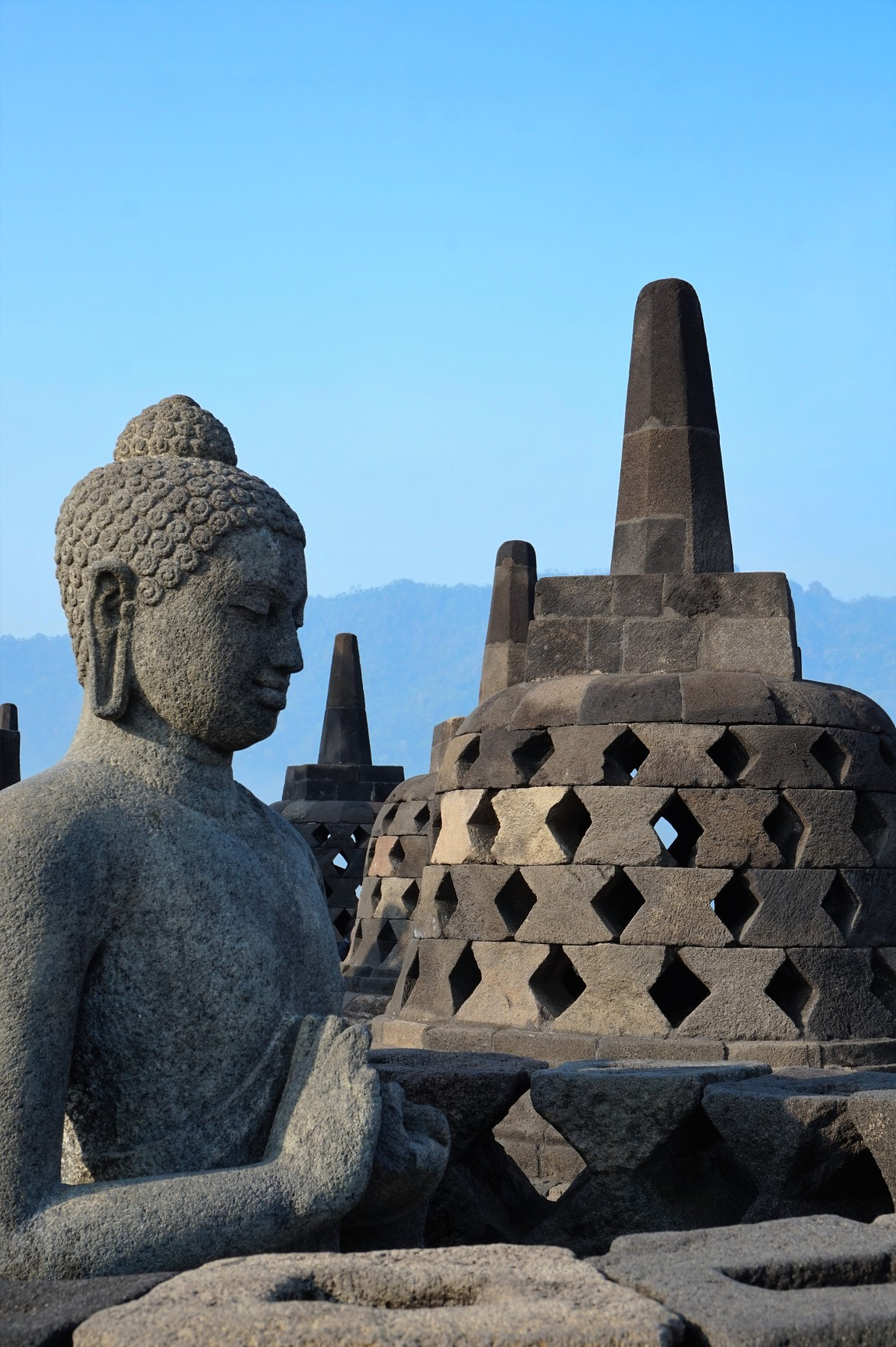 Indonesie - Java - Borobudur (3)