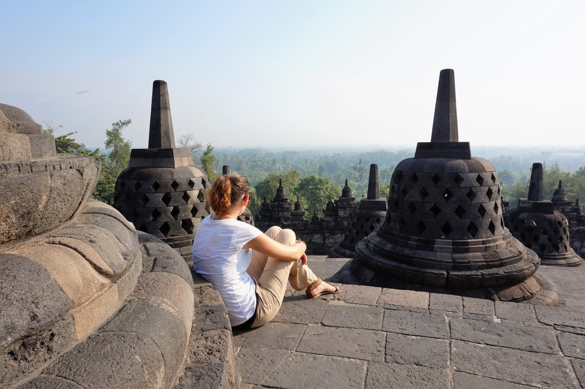 Indonesie - Java - Borobudur (5)