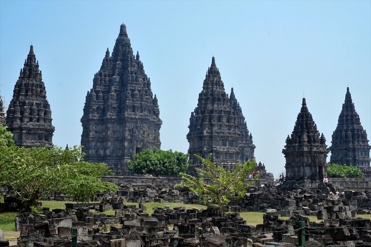 Indonesie - Java - Prambanan